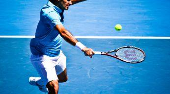 Roger Federer Volley