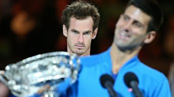 murray djokovic Australian Open 2015