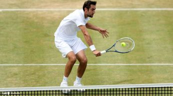 Marin Cilic grass court