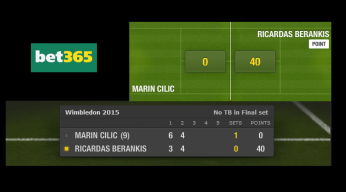 bet365 live tennis betting