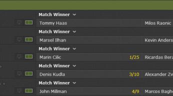 bet365 tennis odds