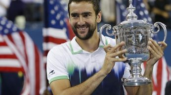 Cilic 2014 US Open Tennis