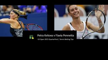 Kvitova, Pennetta US Open 2015