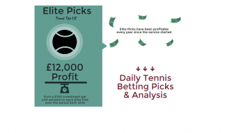 Elite Picks | Tennis Betting Picks