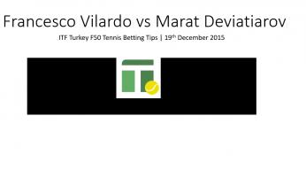 Francesco Vilardo vs Marat Deviatiarov