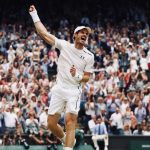 Andy Murray Wimbledon Celebrates Victory